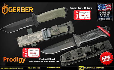 New Arrival 2015!!!!Gerber Prodigy Black SE @ RM 419 Only
