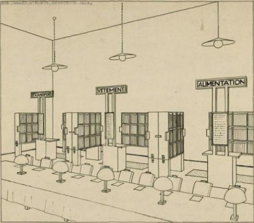 Bibliothèque 1923 (Projet)