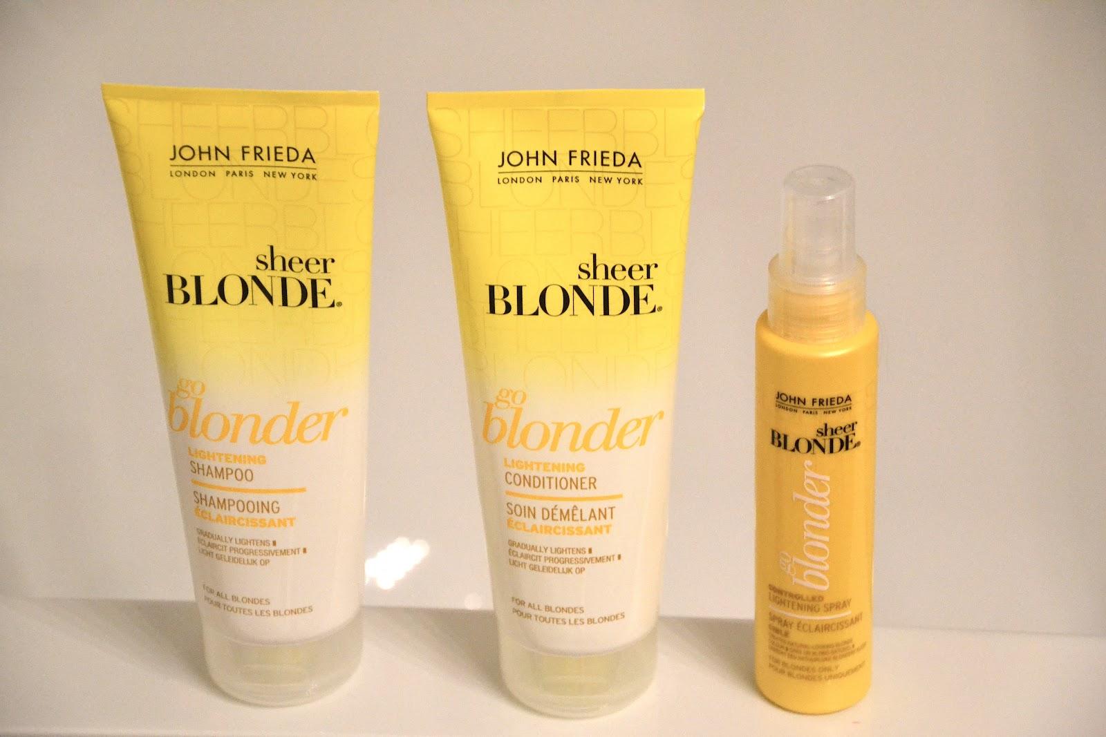 marine magpie john frieda sheer blonde go blonder. Black Bedroom Furniture Sets. Home Design Ideas
