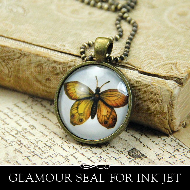 Annie howes photo jewelry making new glamour seal ink jet glaze for new glamour seal ink jet glaze for glass pendants wont smear your ink jet prints aloadofball Gallery