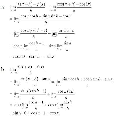 pembahasan menentukan limit dari fungsi