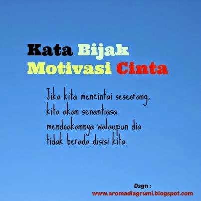Kata Bijak Motivasi Cinta