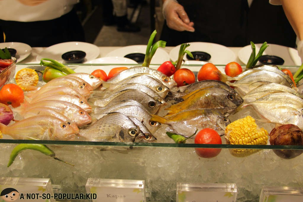 Fresh seafood - choose your own way of cooking - Vikings