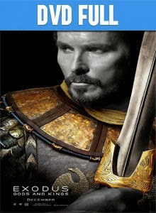 Exodus Gods and Kings DVD Full Latino 2014