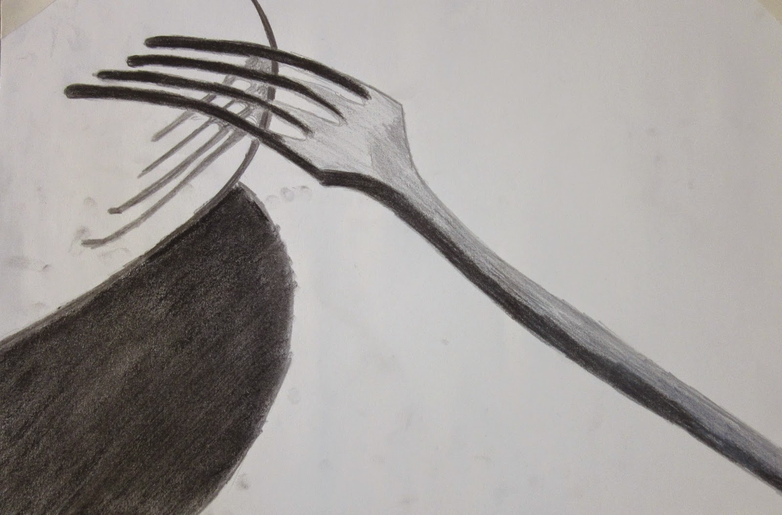 Bram de bree fotografie de vork en de schaduw - Schaduw maken ...