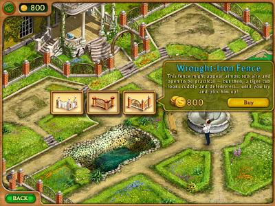 Gardenscapes HD (Premium) - เลือกของแต่งสวน