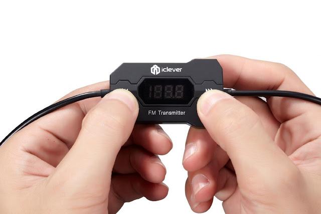 trasmettitore universale fm iclever ic f27