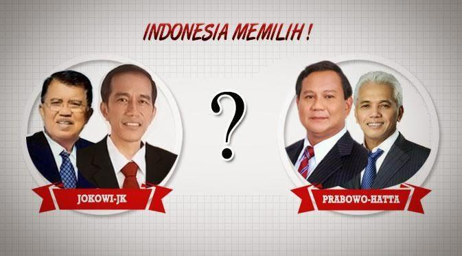 Hasil Pilpres 2014 Jokowi JK VS Prabowo Hatta Pemilu Presiden 2014