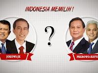 Hasil Quick Count Pilpres 2014 Jadi 2 Kubu Jokowi VS Prabowo