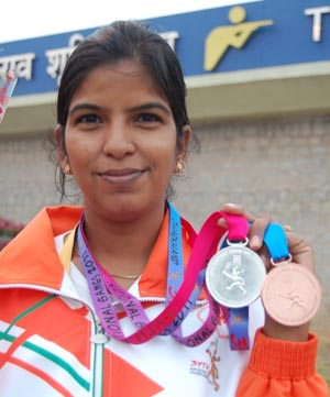 Rajkumari Rathore (Shooting) - Arjuna Award