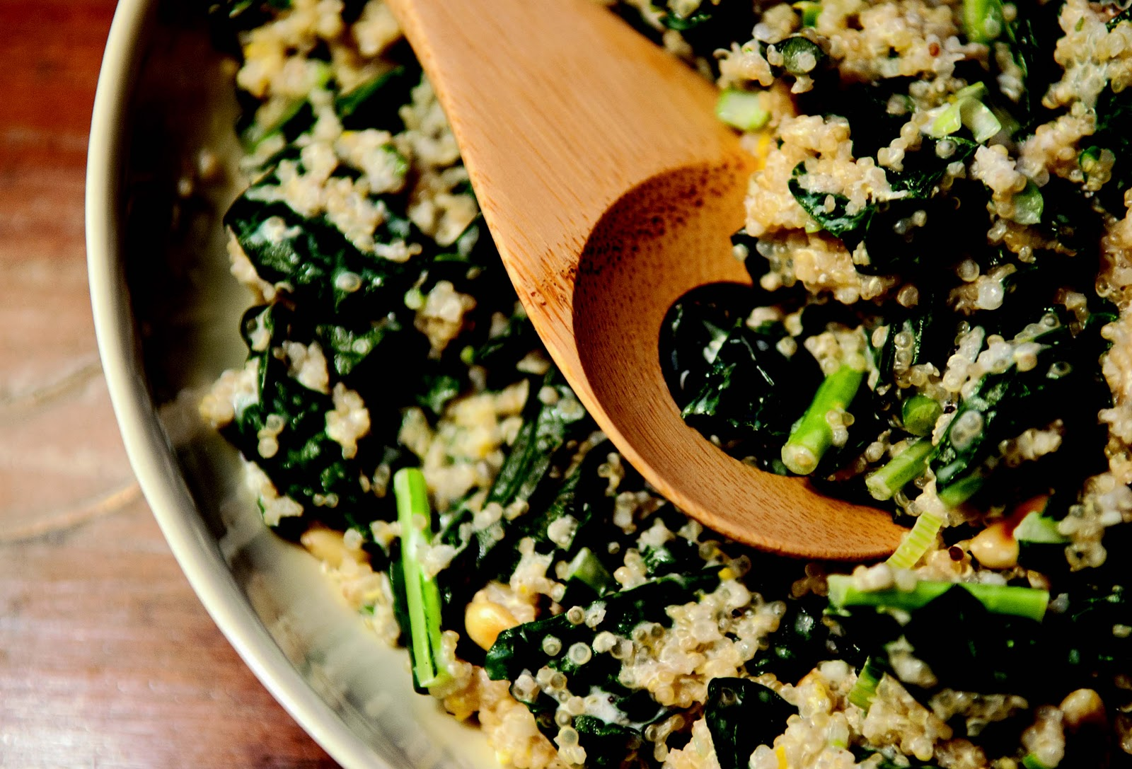 One-Pot Kale and Quinoa Pilaf Recipe and Food52 Cookbook Giveaway - My ...
