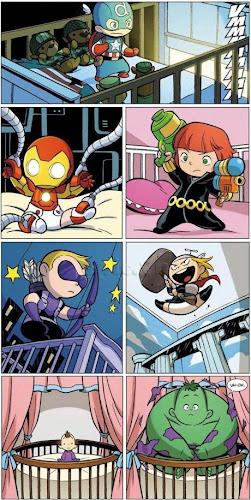 Os Vingadores - Baby