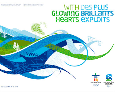 Free Vancouver 2010 Olympic Winter Games PowerPoint Background 16