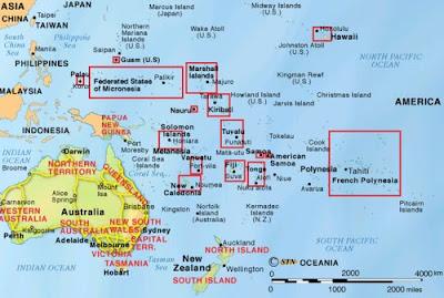 islas fiji mapa y situación