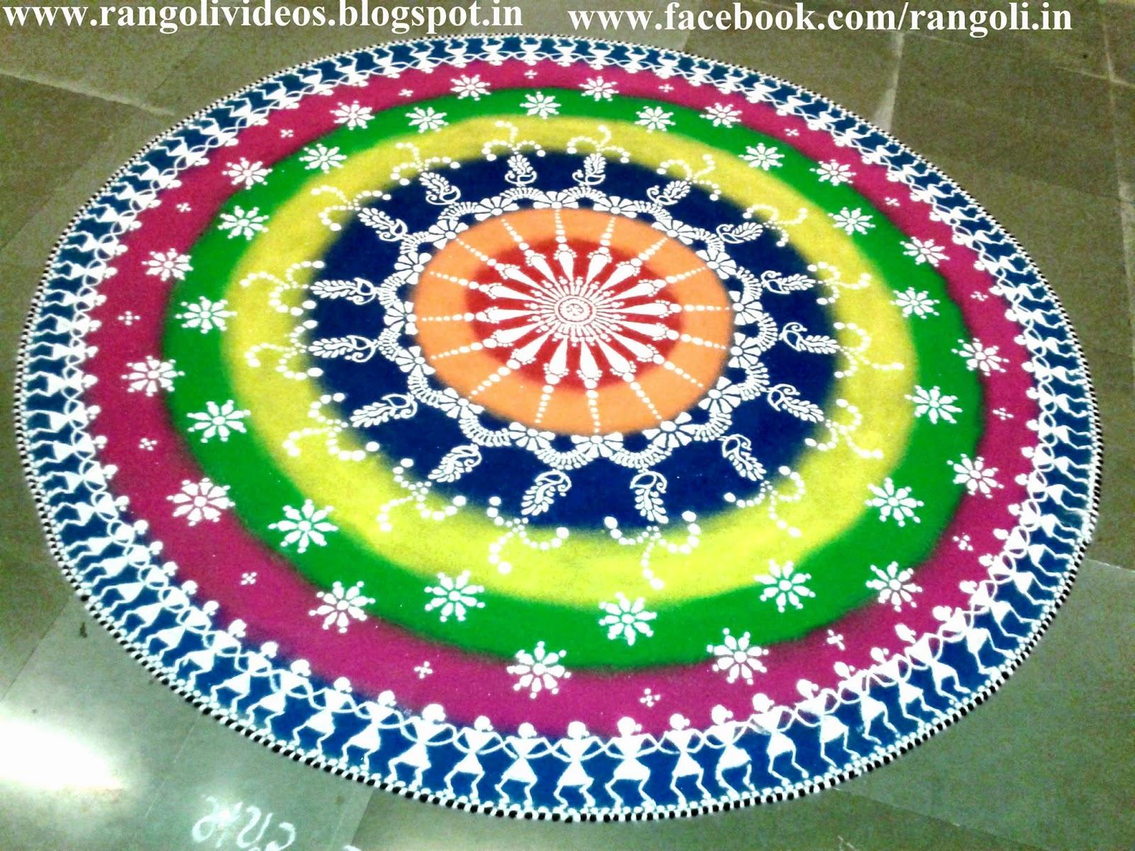 Diwali rangoli kolam designs images diwali rangoli 2013 for Home rangoli designs