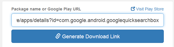 Generate Link Download File APK