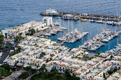Puerto de Morgan marina and old town