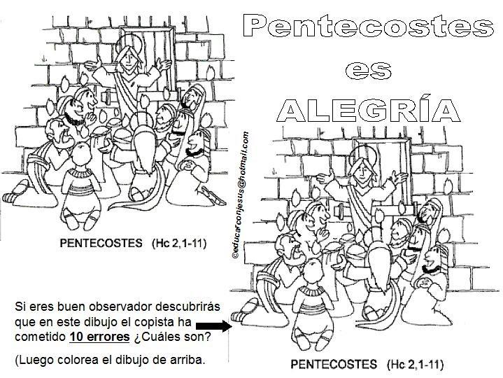 Educar con Jesús: Pentecostés y sus 10 errores