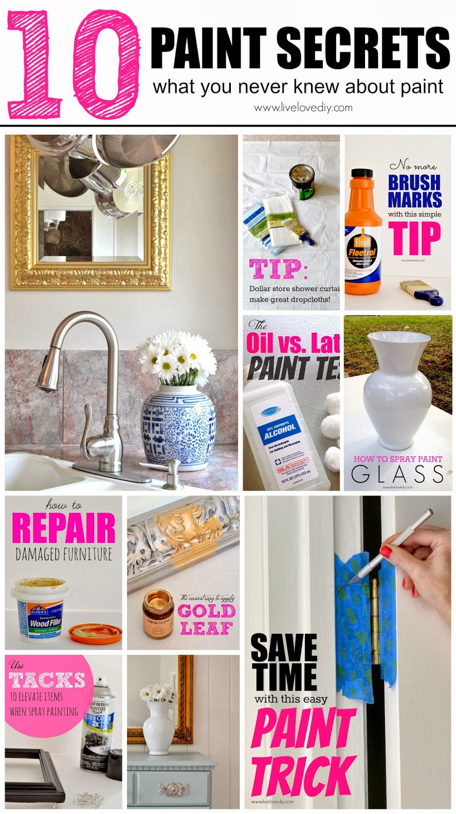 10 Painting Tips   Tricks You Never Knew  Part Three. LiveLoveDIY  10 Painting Tips   Tricks You Never Knew  Part Three
