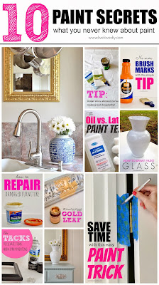 10 Paint Secrets (part three): what you never knew about paint. Tip #10 is GENIUS!