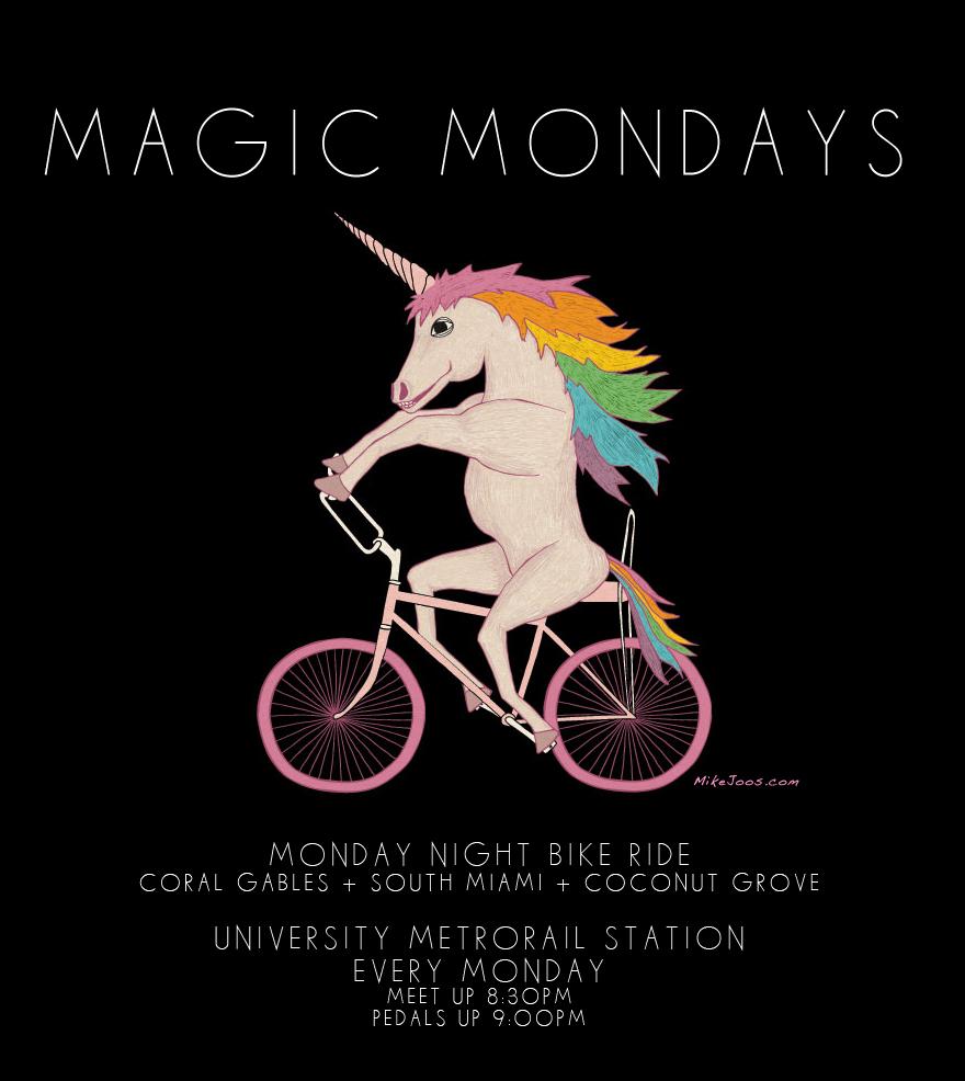 Magic Mondays Weekly Bike Ride The Miami Bike Scene