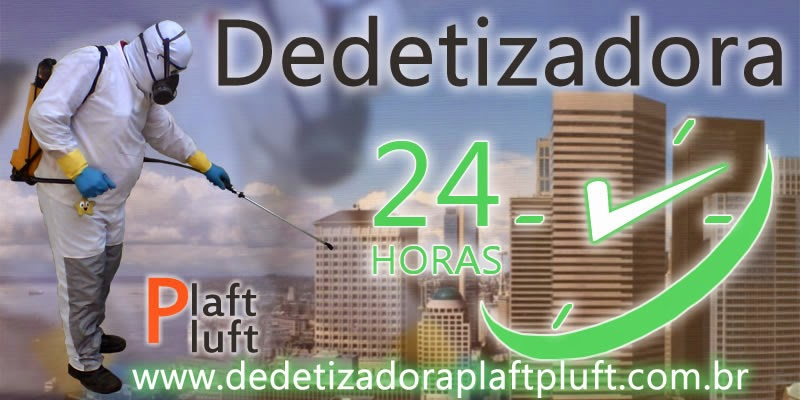 Dedetizadora Plaft Pluft 24 Horas SP