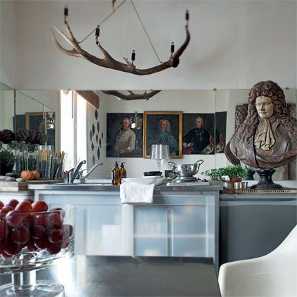 Una cucina di piccole dimensioni spazi di piccole dimensioni possono