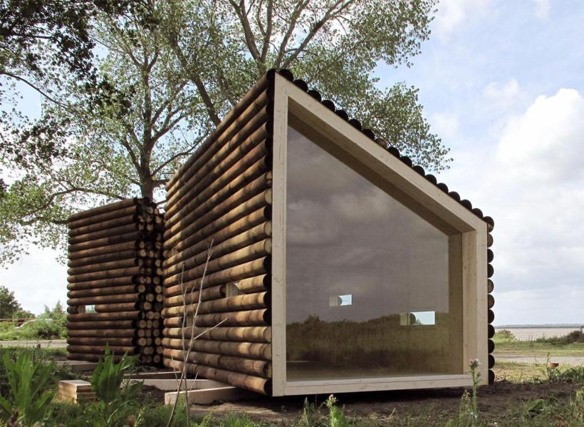 Thirteen tiny dream log cabins and a Modern micro homes