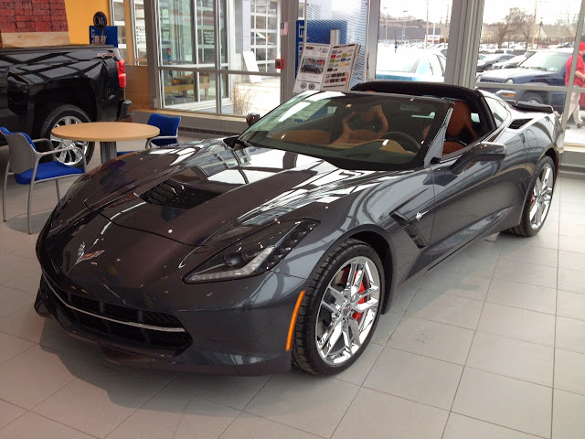 Photo of the 2014 Chevy Corvette Stingray at Hoselton Chevrolet!