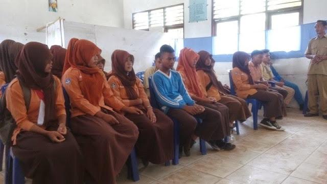 Sosialisasi Penerimaan Siswa Baru di SMP Negeri 8 Tambusai Utara