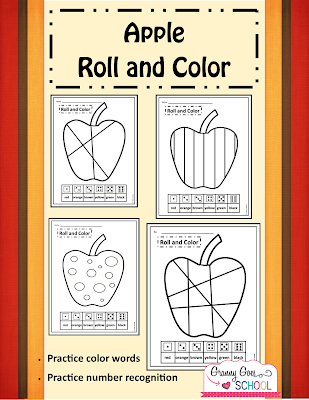 https://www.teacherspayteachers.com/Product/Apple-Roll-and-Color-Freebie-2129451