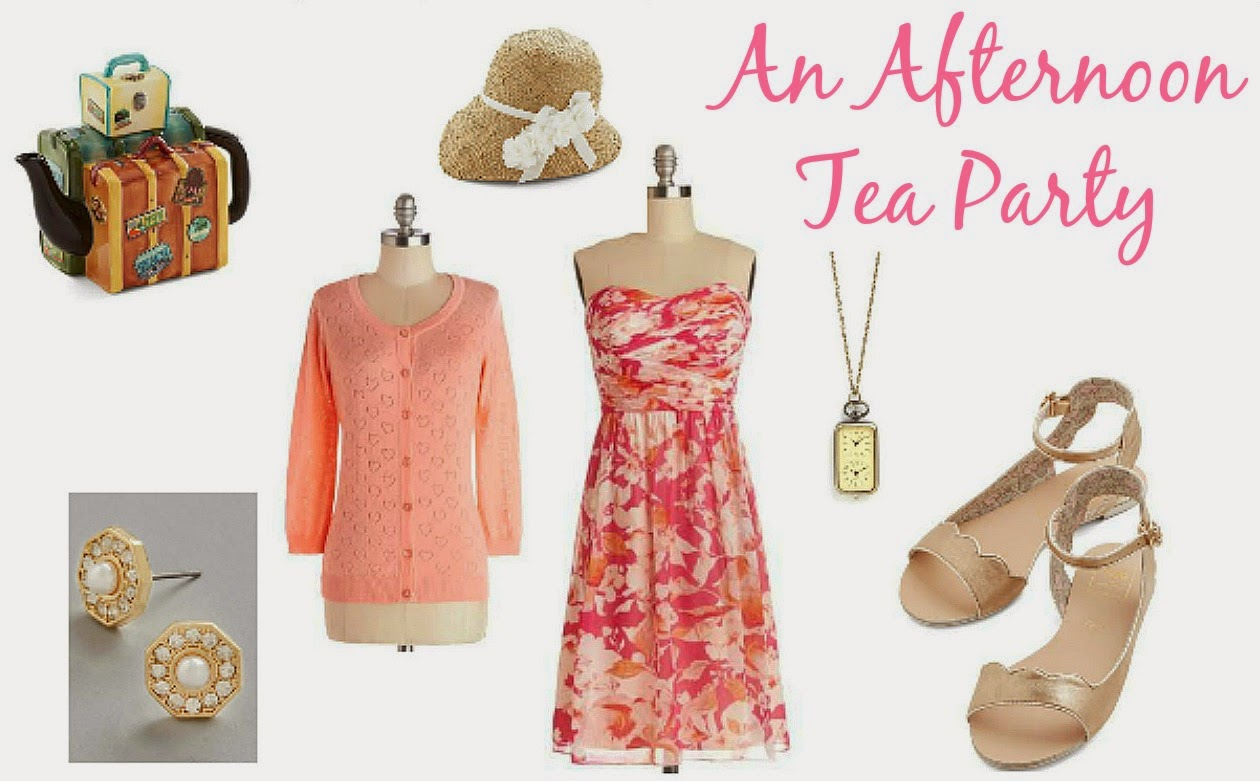 An Afternoon Tea Party A Modcloth Outfit Challenge