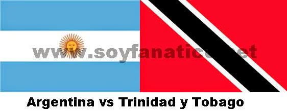 Amistoso Argentina Trinidad y Tobago 2014