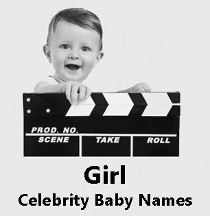 Hollywood celebrity baby girl names