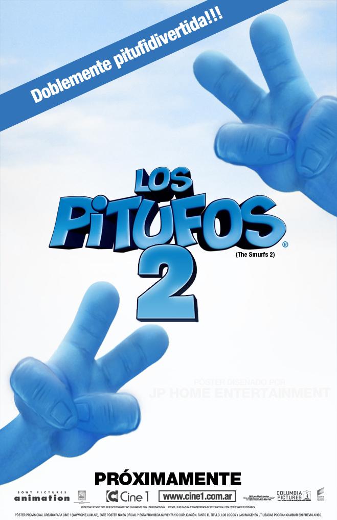 Los Pitufos 2: poster en español