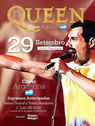 Queen no Teatro Marajoara