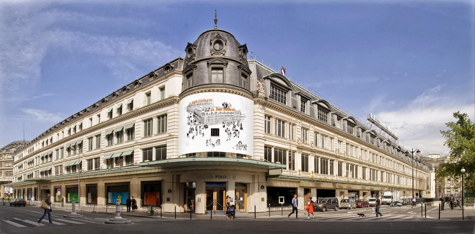 Adentro style le bon marche has some great news for men - Le bon marche luminaires ...