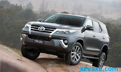 Toyota Fortuner 2016 giá từ 35.000 USD