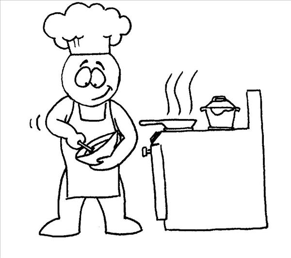 Dibujos de una cocina imagui for Dibujos de cocina