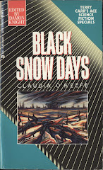 'Black Snow Days' by Claudia O'Keefe, Ace Books, April 1990