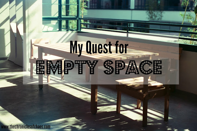 My Quest for Empty Space