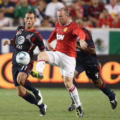 Wayne Rooney Striker Man Utd Tour USA