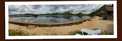 el rio y mar, palawan