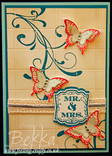 Label Love card - visit www.bekka.stampinup.net & save 25% this stamp set until 28 October 2013