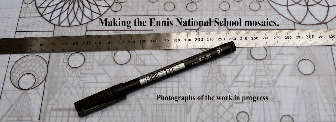 Making the Ennis National School Mosaics