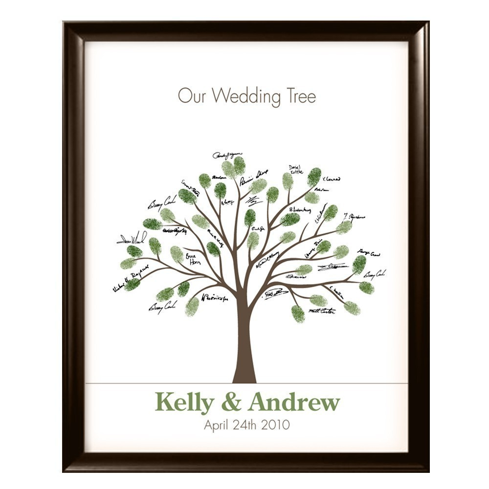 Thumbprint Tree Guest Sign: The Willrich Wedding Planner's Blog: Thumbprint Wedding