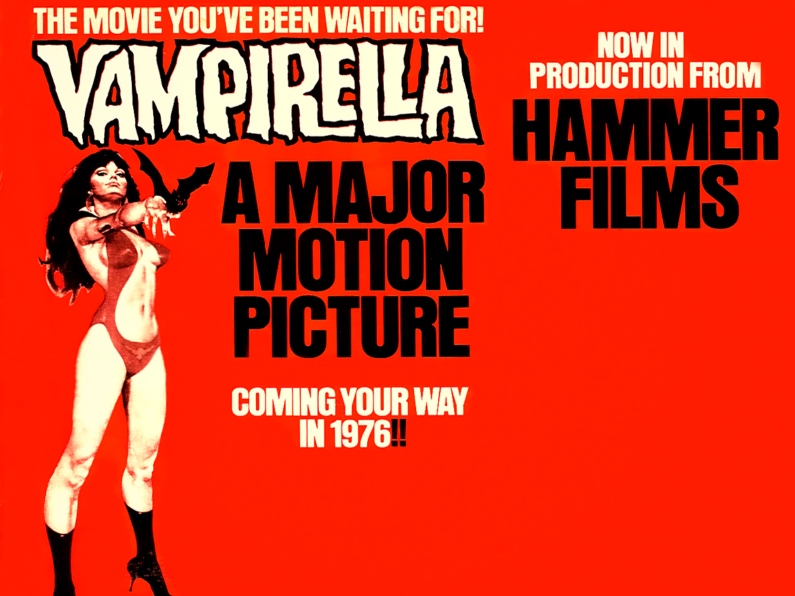 Sinful Celluloid: The Greatest Vampire Movie Never Made: Hammer