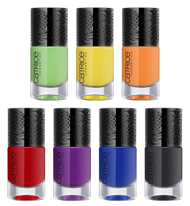 Catrice Carnival of Colours Limited Edition Nail Lacquer