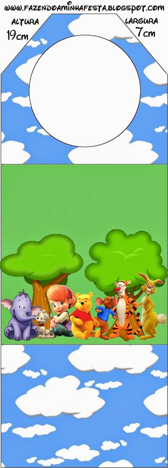 Para marcapáginas de Winnie the Pooh.