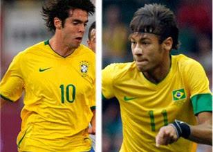"Neymar: ""Kaká es un ídolo para mi"""